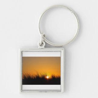 砂丘の日没 キーホルダー