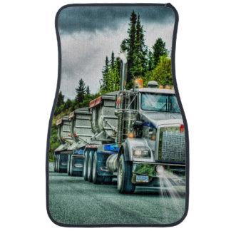 砂利のトラック、貨物自動車のトラック運転手の大きい装備 カーマット