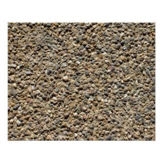 砂利及び砂の写真v3 ポスター