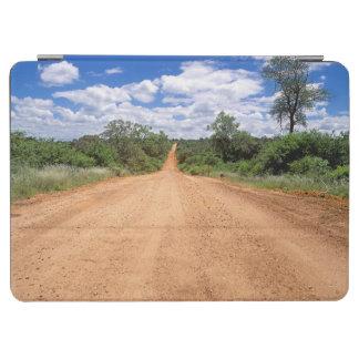 砂利道、Krugerの国立公園、ムプマランガ州 iPad Air カバー