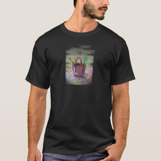 砂場メンズワイシャツにとどまること Tシャツ