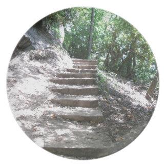 砂岩階段 プレート