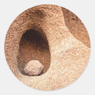 砂岩静物画 ラウンドシール