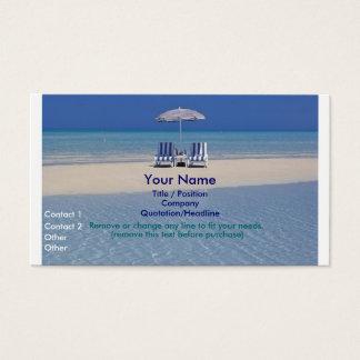 砂州の名刺IIのビーチチェア 名刺