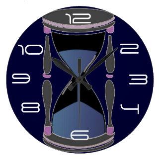 砂時計の柱時計 ラージ壁時計