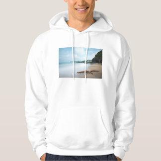 砂浜の海洋波 パーカ