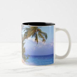 砂浜10 ツートーンマグカップ