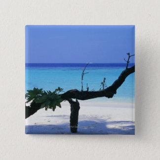 砂浜8 5.1CM 正方形バッジ