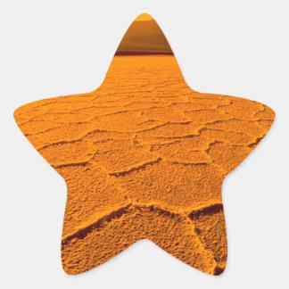砂漠のどが渇いたデスヴァレー 星シール