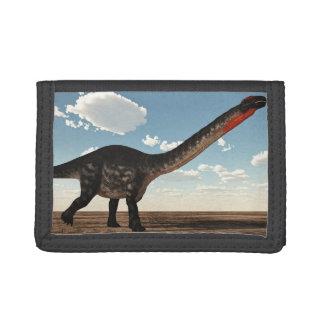 砂漠のアパトサウルスの恐竜- 3Dは描写します