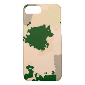 砂漠のオアシスの迷彩柄 iPhone 7ケース