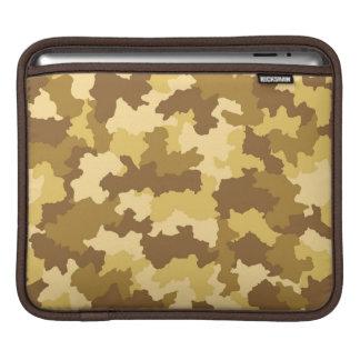 砂漠のカムフラージュのiPadの袖 iPadスリーブ