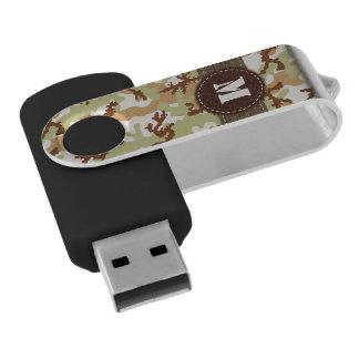 砂漠のカムフラージュ USBフラッシュドライブ