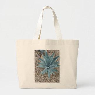 砂漠のサボテン ラージトートバッグ