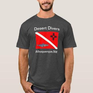 砂漠のダイバーのワイシャツ Tシャツ