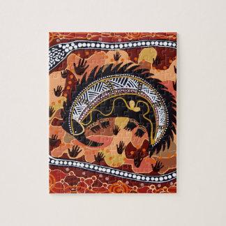 砂漠のハリモグラの夢を見ること ジグソーパズル