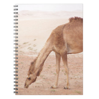 砂漠のラクダ ノートブック
