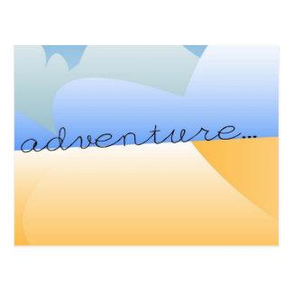 砂漠の冒険 ポストカード