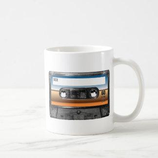砂漠の地平線のラベルカセット コーヒーマグカップ
