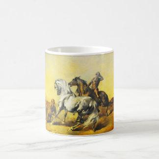 砂漠の場面 コーヒーマグカップ