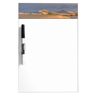 砂漠の夜明け ホワイトボード