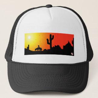 砂漠の帽子の陰 キャップ