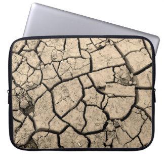 砂漠の干ばつ ラップトップスリーブ