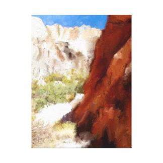 砂漠の平静 キャンバスプリント