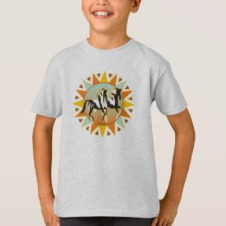 砂漠の星のペンキの馬はTシャツをからかいます Tシャツ