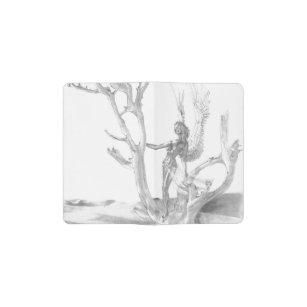 砂漠の木のノート ポケットMoleskineノートブック