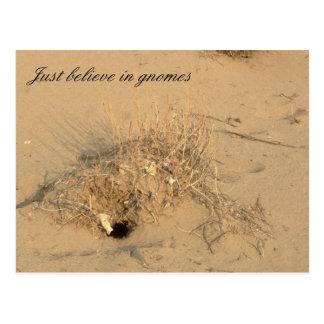 砂漠の格言 ポストカード