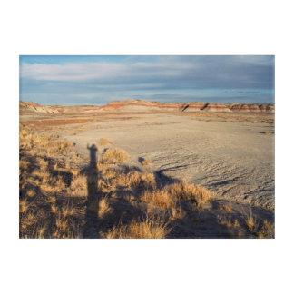 砂漠の波: 化石森林の国立公園 アクリルウォールアート