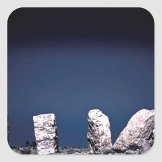 砂漠の石 スクエアシール