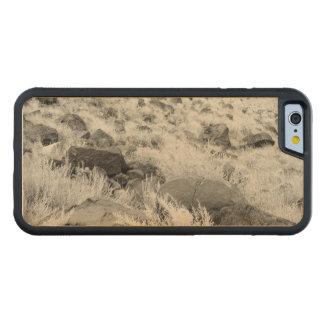 砂漠の草地の玄武岩の石 CarvedメープルiPhone 6バンパーケース