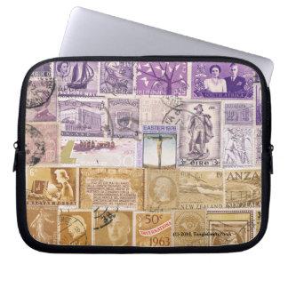 砂漠の薄暗がりのラップトップの箱の袖、切手の芸術 ラップトップスリーブ