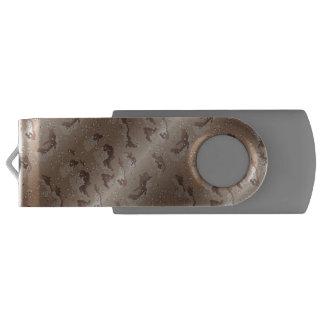 砂漠の迷彩柄のカムフラージュ USBフラッシュドライブ