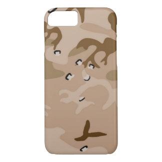 砂漠の迷彩柄 iPhone 7ケース