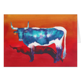 砂漠の長角牛 カード