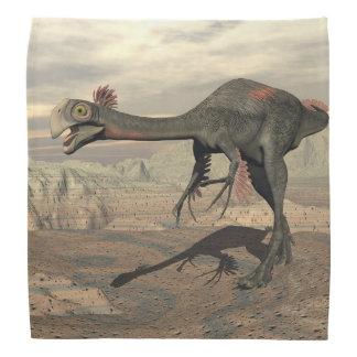 砂漠のGigantoraptorの恐竜- 3Dは描写します バンダナ