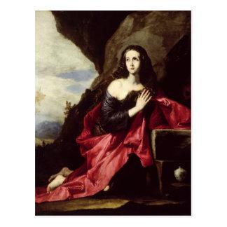砂漠のSt Mary MagdaleneかSt. Thais ポストカード