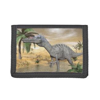砂漠のSuchomimusの恐竜- 3Dは描写します