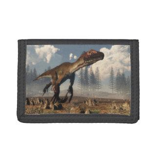 砂漠のUtahraptorの恐竜