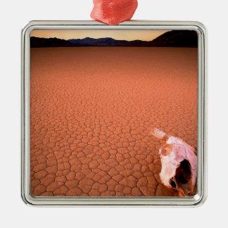 砂漠乾燥しきっているデスヴァレー メタルオーナメント