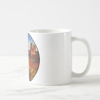 砂漠場面 コーヒーマグカップ