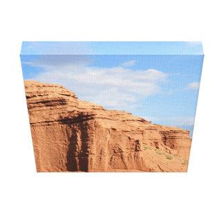 砂漠山 キャンバスプリント