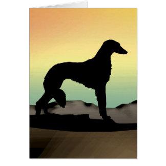 砂漠犬Saluki カード
