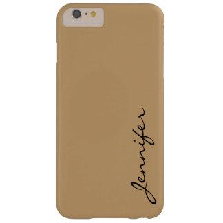 砂漠色の背景 BARELY THERE iPhone 6 PLUS ケース
