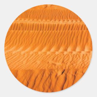 砂漠 ラウンドシール