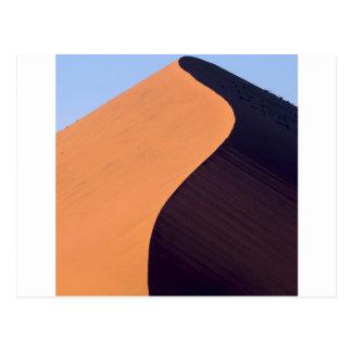 砂漠Sossusvlei Namibナミビアアフリカ ポストカード