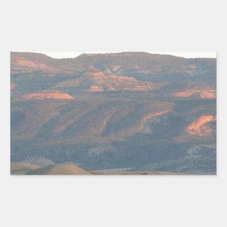 砂漠Sunset.JPG 長方形シール